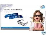 Passive Polarized 3D Glass
