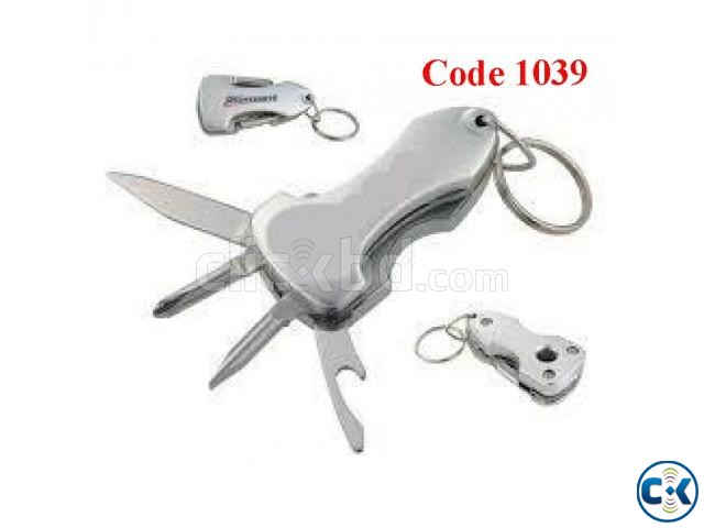 MULTI FUNCTIONAL KEY CHAIN TOOL Code 1039 | ClickBD large image 0