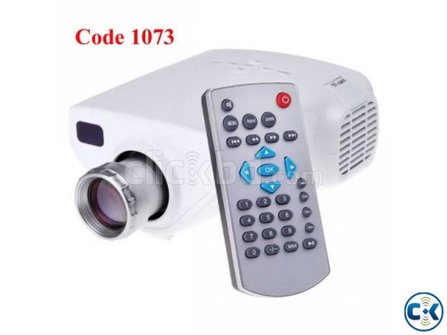 Mini Multimedia LED Projector | ClickBD large image 0