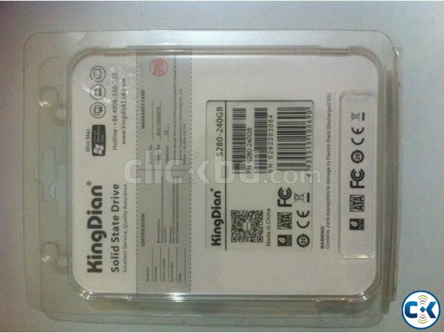 King Dian SSD 240GB 1 Year warranty  | ClickBD large image 1