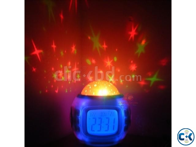 Stars Projector Clock | ClickBD large image 0