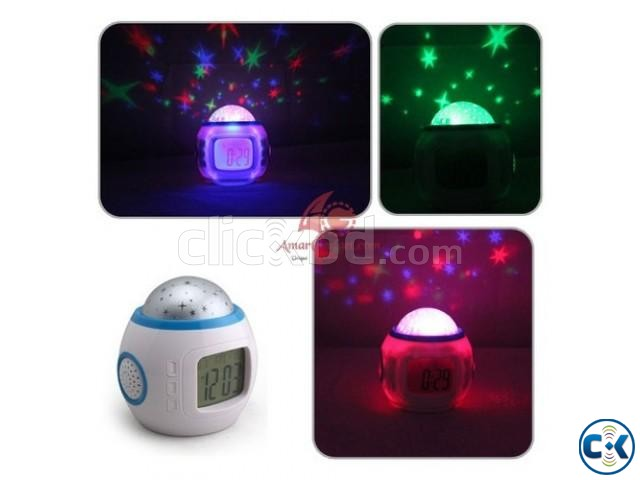 Stars Projector Clock | ClickBD large image 1