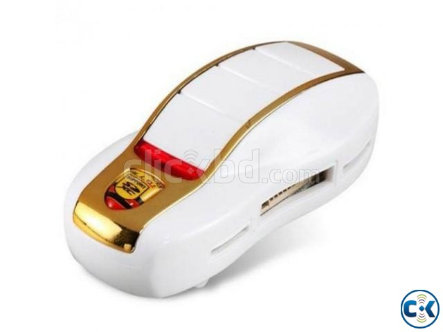 Car Shaped 5-in-1 Mini Card Reader | ClickBD large image 0
