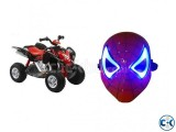 Combo Offer Beach Motorcycle for Kid s LED Mask