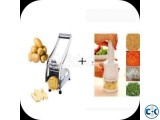 Combo Of Vegetable Chopper And Potato Chipper