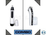 Combo Of Kemei Trimmer Nose Ear Trimmer
