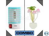 Combo of Anti-Mosquito Lamp Avatar Romantic Lamp
