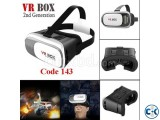 VR box for 3d Vision with remote