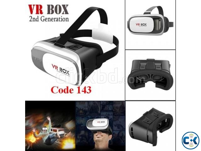 VR box for 3d Vision with remote | ClickBD large image 0