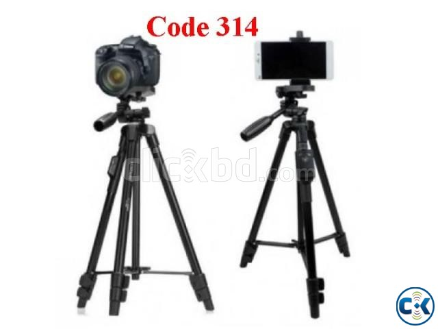 Aluminum Tripod With Bluetooth Remote Code 314 | ClickBD large image 0