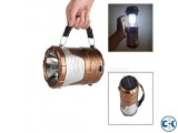 2 in 1 Solar Rechargeable Torch