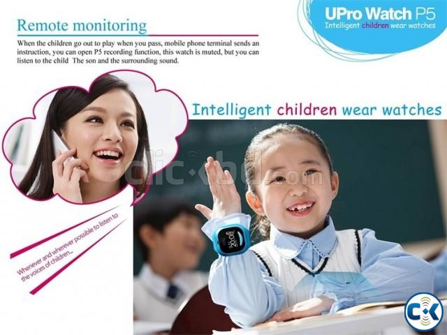 GPS Kid Tracker Smart Wristwatch | ClickBD large image 4