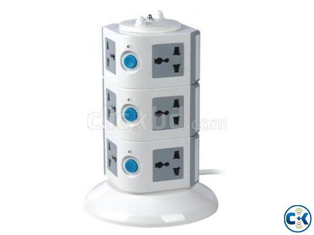 3 Level Multi Plug Socket Code 354 | ClickBD large image 0