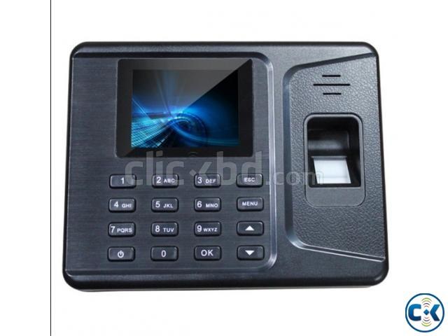 Fingerprint RFID card time attendance system | ClickBD large image 0