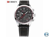 Top Quality Brown Color Curren Watch