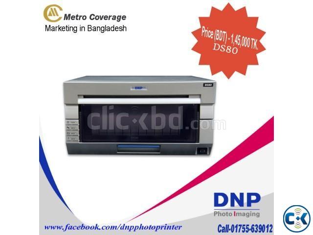 DNP DS80 Digital Photo Printer 110 8L Print | ClickBD large image 0