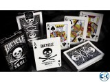 BICYCLE SKULL DECK PLAYING CARD