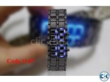 Samurai LED Watch Blue