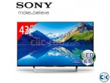 SONY 43 inch W Series BRAVIA 750D LED TV