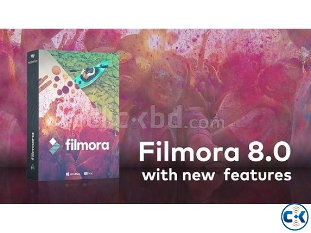 Filmora 8.0 Video Editing Software Full Version | ClickBD large image 0