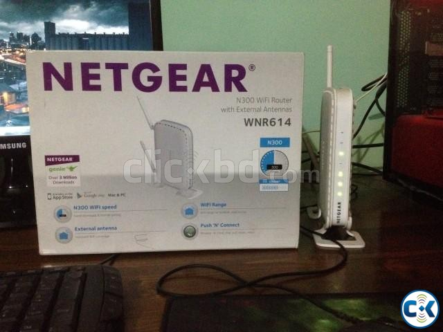 Netgear WNR614 Wifi Router | ClickBD large image 0