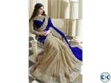 Indian Designer Georgette Embroidered Saree