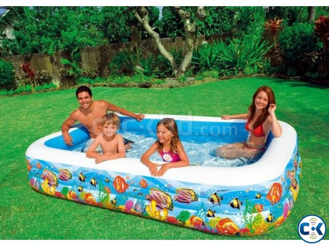 Inflatable Family Bath Tub 10ft  | ClickBD large image 0