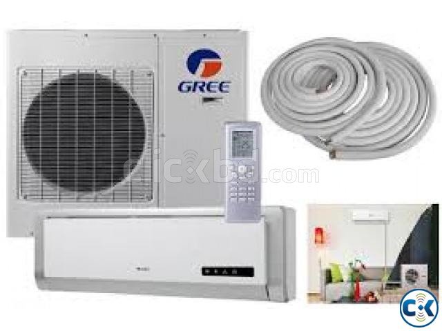 Gree AC GS-12CT 1-Ton 12000 BTU Auto Split Air Conditioner | ClickBD large image 1