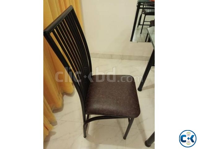 Dining table with four chairs | ClickBD large image 0