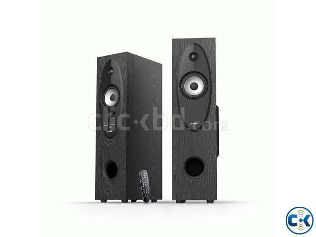 F D T-30X Two Floor Standing Bluetooth Tower Speaker | ClickBD large image 1