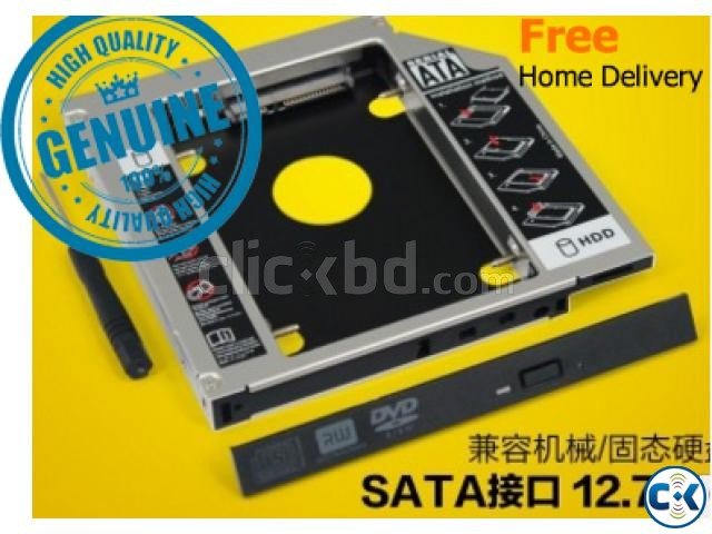 2nd HDD SSD Caddy Genuine | ClickBD large image 0