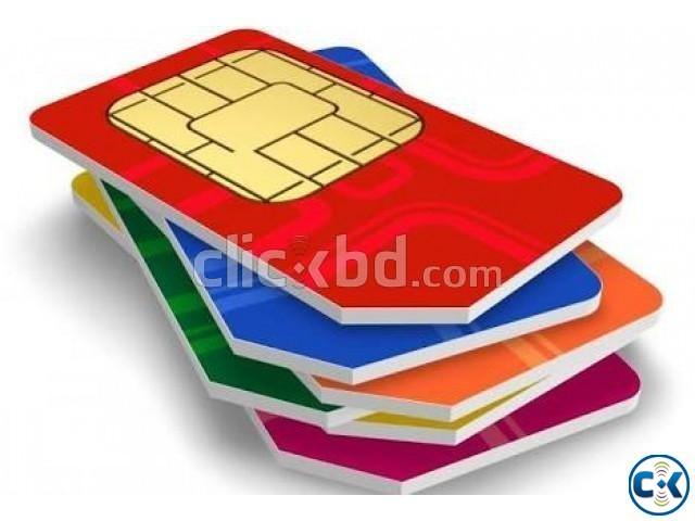 Golden sim card sale.   ClickBD large image 0