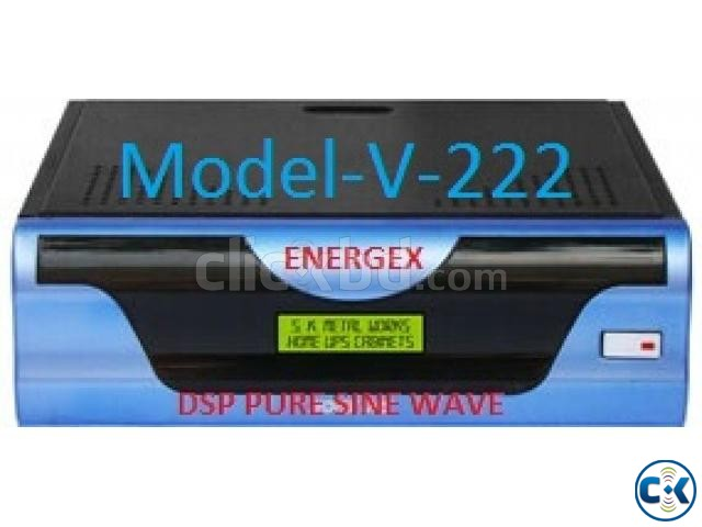 Energex Pure Sine Wave UPS IPS 625VA 5yrs WARRENTY | ClickBD large image 1