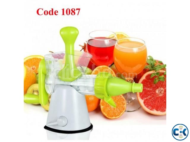 Manual Hand Juice Maker | ClickBD large image 0