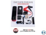 Brand New Jump starter power bank with compressor set