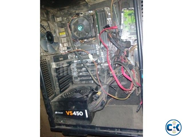 Gaming PC For Sell AMD Bulldozer 4.0 GHz 16 MB Cache | ClickBD large image 0