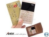 Small image 1 of 5 for AIEK E1 1 inch Mini Card Phone intact Box | ClickBD
