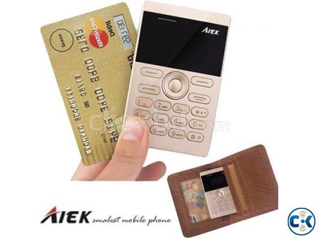 AIEK E1 1 inch Mini Card Phone intact Box | ClickBD