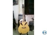 TGM Ovation acoustic guitar