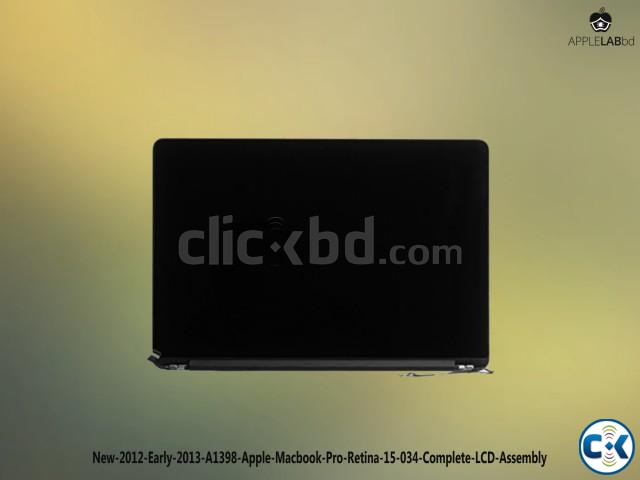 New 2012 early macbook pro retina lcd assenbly | ClickBD large image 0