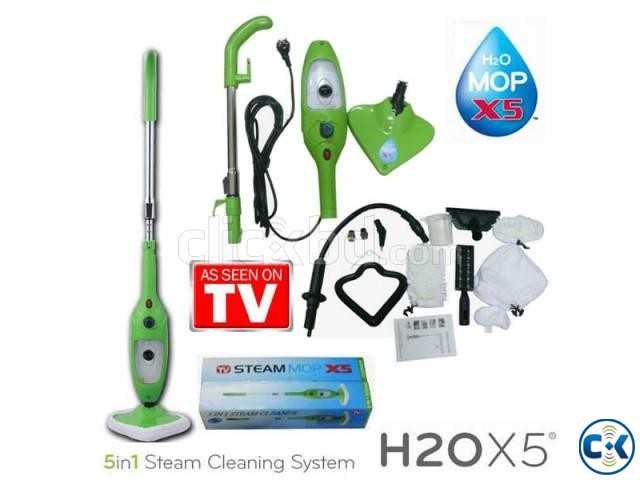 H2O Mop X5 5-in-1 Steamer as seen on tv | ClickBD large image 4