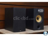 B W Bookshelf speakers