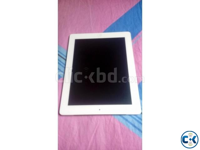 Apple iPad 3 Wi-Fi 4G 16GB White Wi-Fi Cellular | ClickBD large image 1