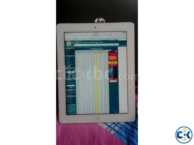 Apple iPad 3 Wi-Fi 4G 16GB White Wi-Fi Cellular | ClickBD large image 2