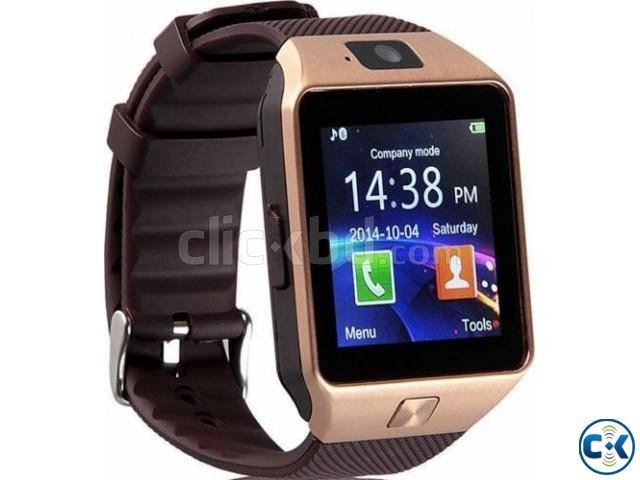 Smart Watch With Mobile Gold | ClickBD large image 0