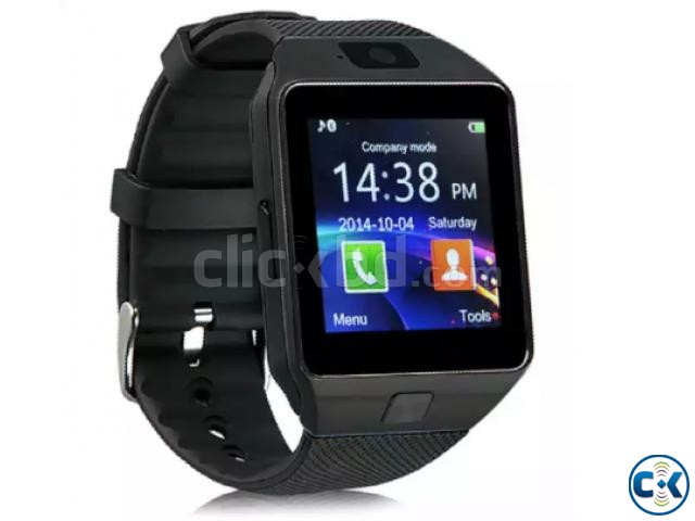 Smart Watch With Mobile Gold | ClickBD large image 1