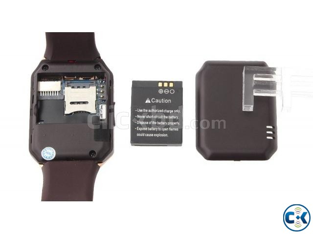 Smart Watch With Mobile Gold | ClickBD large image 2