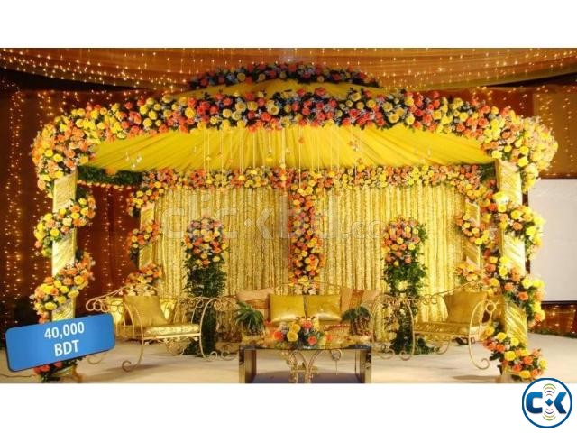 Wedding Stage Decoration Clickbd