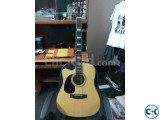 Zealux acoustic jumbo left handed guitar
