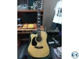 Zealux acoustic jumbo left handed guitar